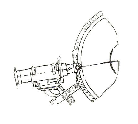 Схема установки державок ДО на бесцентровошлифовальном станке