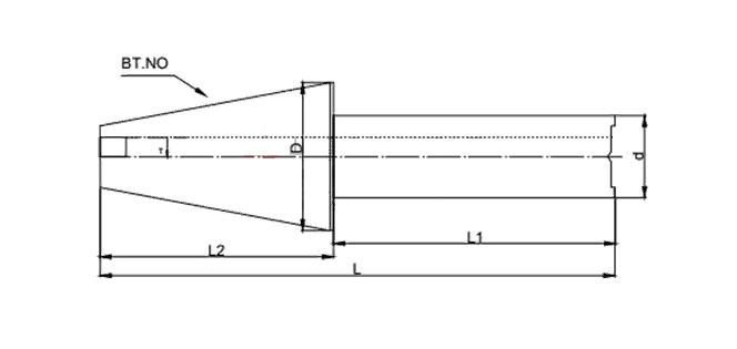 Тестовая оправка для токарного станка